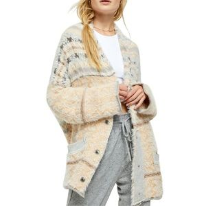 Free People Fair Weather Cardigan